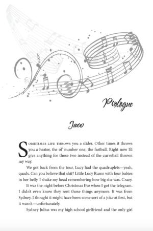 Rock Star Series, paperback