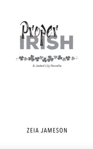 Proper Irish, paperback