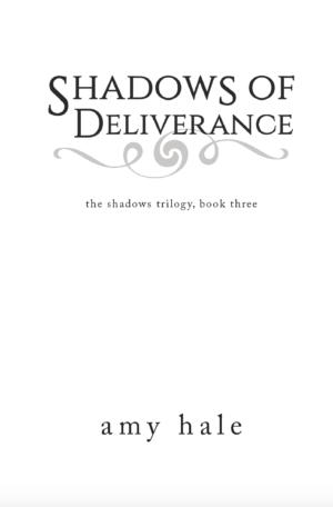 Shadows of Deliverance, paperback