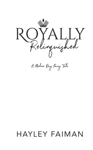 Royally Relinquished, paperback