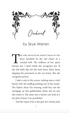 My Sweet Villaintine, paperback
