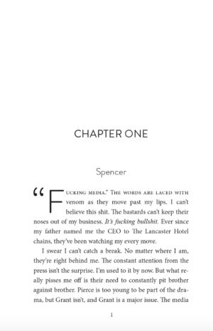 Clandestine, paperback