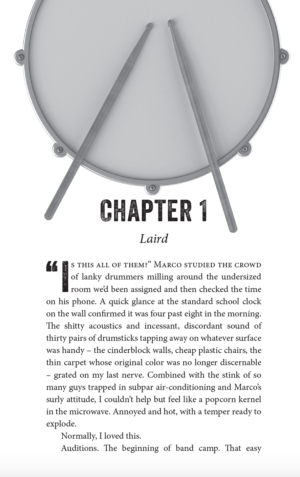 Drumline, paperback
